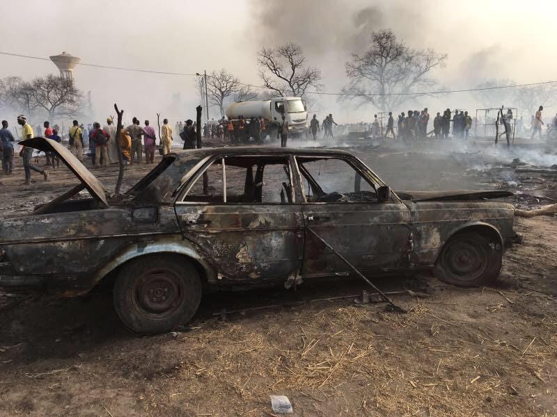 Médina Gounass – Un incendie d'une rare violence au Dakka : plusieurs personnes calcinées