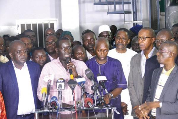Modou Diagne Fada se démarque de Manko et crée sa propre coalition