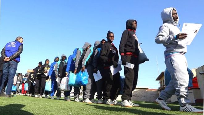 Sénégalais rapatriés de Libye :