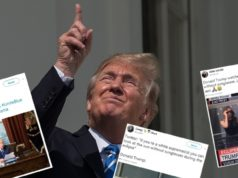 Trump Eclipse solaire