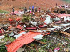 coulées de boue en Sierra Léone