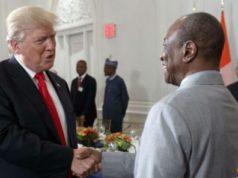 Alassane Ouattara et Trump