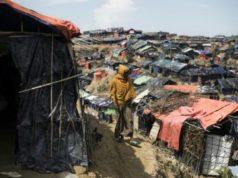 Camp des Rohingyas