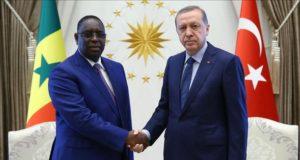 Erdogan et Macky Sall