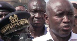 Aly Ngouille Ndiaye  à parc Lambaye