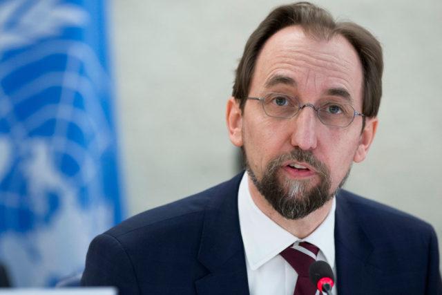 Haut commissaire des NU aux droits de l'homme