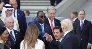 Donald Trump et Macky Sall