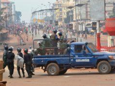 guinée manifestation