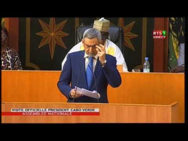 Assemblée nationale reçoit Jorge Carlos Fonséca