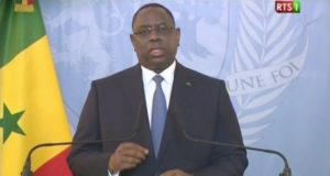 Macky Sall, discours à la Nation du 03 avril 2018