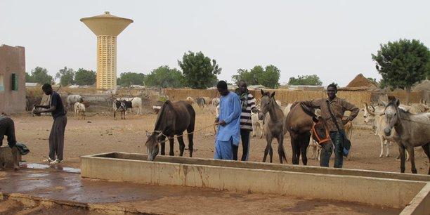 senegal infrastructures village paysans