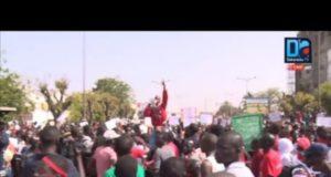 Dakar marche nationale des étudiants