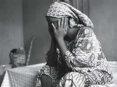 Femme triste