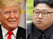 Kim Jong Un et Donald Trump