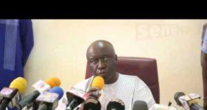 Idrissa Seck présente ses excuses