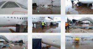 avions endommagés à AIBD