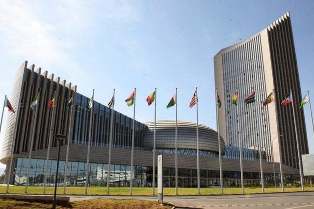 Siège de l'Unio  africaine
