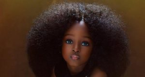 Une Nigériane de 5