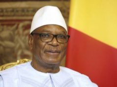 Ibrahim Boubacar Keïta candidat