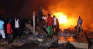 Incendie au marché Tilène de Ziguinchor 360 cantines emportées