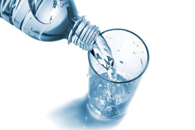 eau en bouteille