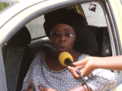 Boury Mbaye Taxi woman