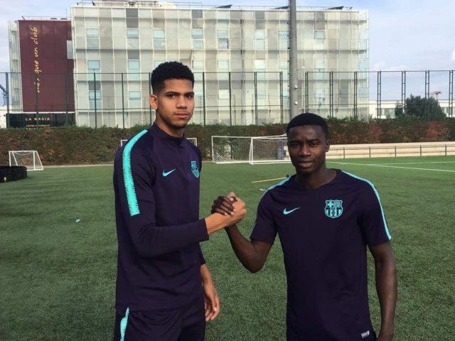 Moussa Wague Barcelone