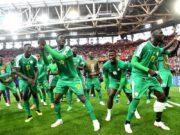 Senegal comemora vitória