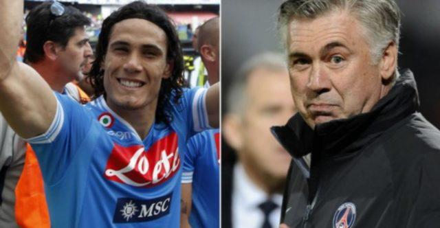 football psg naples avant match ligue champions ancelotti cavani insigne