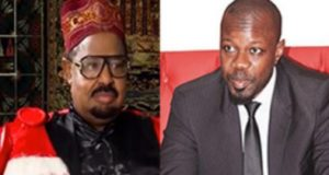 Ahmet Khalifa Niasse et Ousmane Sonko