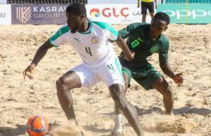Beach Soccer Sénégal