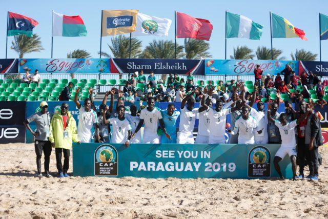 CAN Beach Soccer Sénégal champion 2