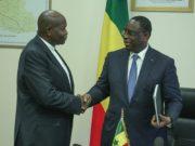Alioune Badara Cissé et Macky Sall