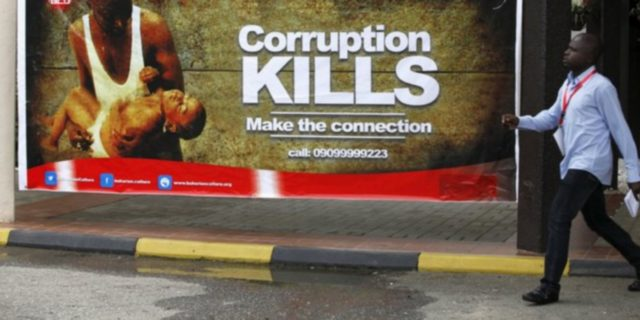 corruption au nigeria