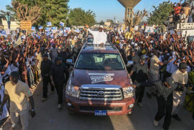 Macky à Mbacké