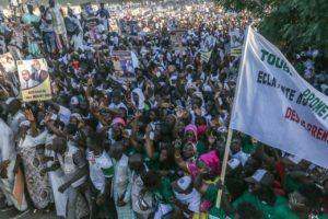 foule à Mbacké