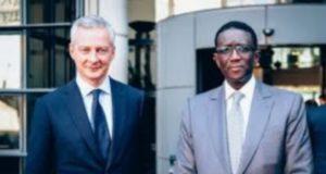 Amadou Ba et Bruno Lemaire