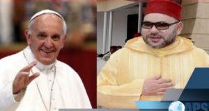 Mouhamed 6 et le Pape François