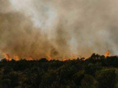 feux de foret sur le mont kenya depuis une semaine