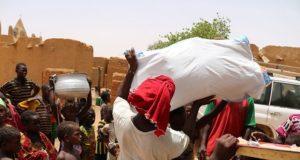 Déplacés au Mali