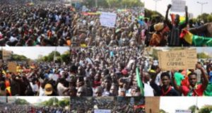 Rassemblement AAR LI NU BOKK Pétrole Gaz Manifestation au Sénégal 450x300