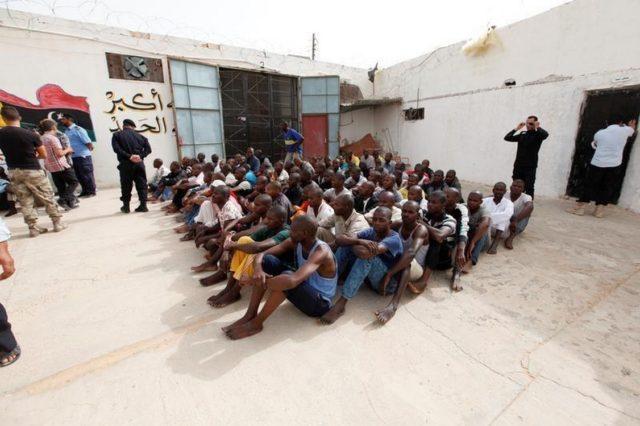 migrant en libye