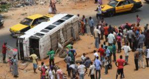 Accident entre Sandiara et Thiadiaye