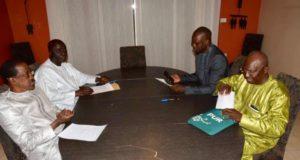 candidat de lopposition idy sonko issa sall madické niang réunion secrète