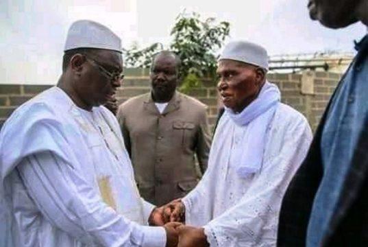 Macky Sall Abdoulaye Wade