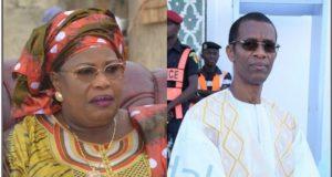 Alioune Ndoye et Aminata Mbengue Ndiaye