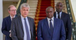 Dg de Fieldstrone et Mouhamadou Makhtar Cissé