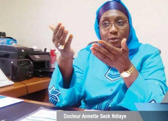 Dr Annette Seck directrice de la Pna