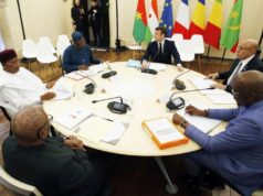 sommet de pau emmanuel macron et les 5 presidents du g5 sahel 0