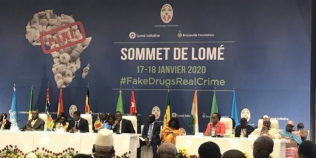 sommet lome initiative faux medicaments